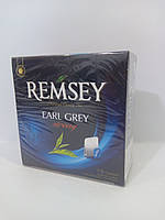 Чай в пакетиках REMSEY Earl Grey strong 75шт