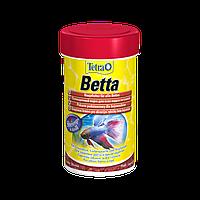 Tetra BETTA 100ml - хлопья для петушков