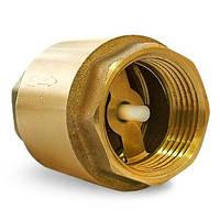 """Обратный клапан усиленный латунь диаметр 1"""" пр-во Италия"""