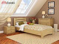 Кровать деревянная Венеция Люкс щит (Estella)