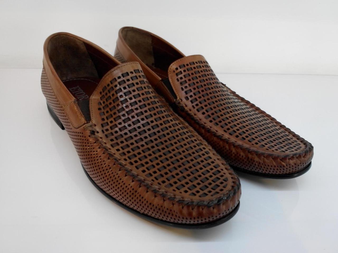 Мокасины Etor 11441-1719-89-1 коричневые