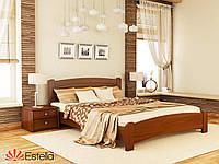 Кровать деревянная Венеция Люкс массив (Estella)