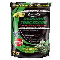 Прикормка рыболовная Mega Mix Зеленый Толстолоб, 2 кг