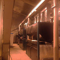 Котёл 1,5 МВт автоматический на пеллете и угле