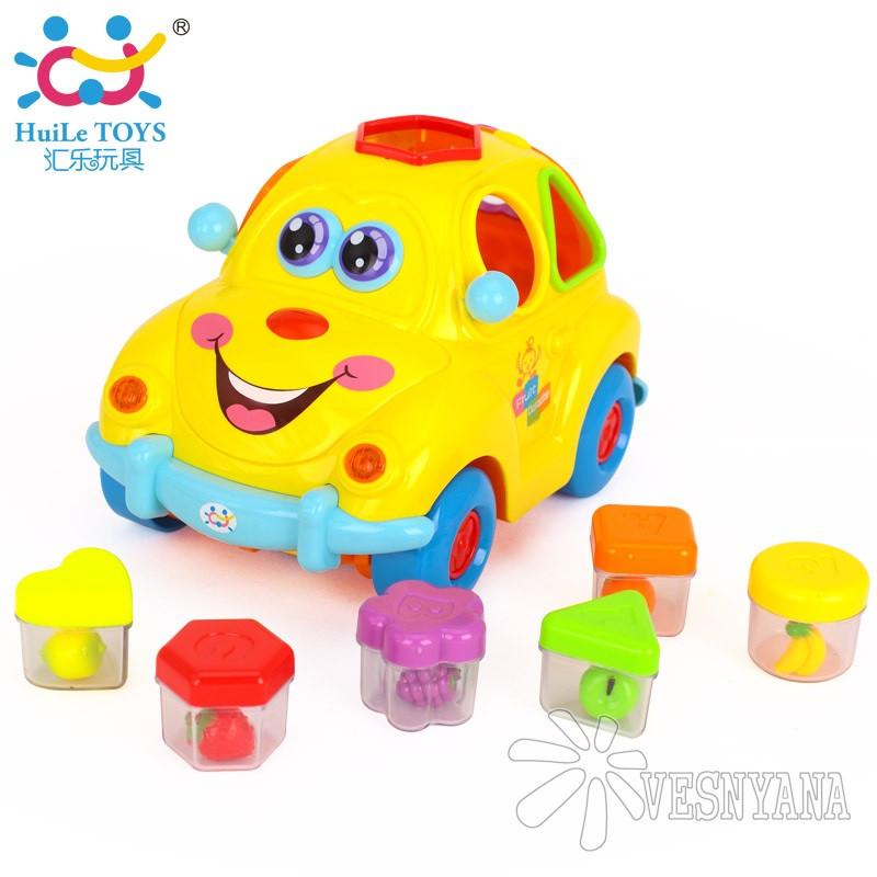 Игрушка Huile Toys Фруктовая машинка сортер 516