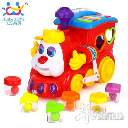 Игрушка Huile Toys Паровозик 556, фото 2