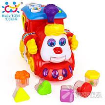 Игрушка Huile Toys Паровозик 556, фото 3