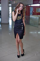 Стильная юбка Батал т-010052