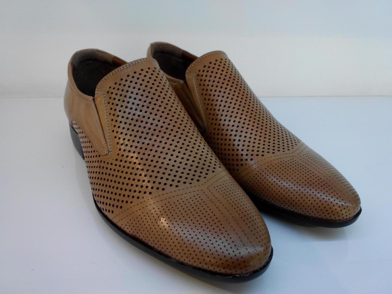Туфли Etor 12634-90 41 коричневые