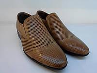 Туфли Etor 12634-90 41 коричневые, фото 1