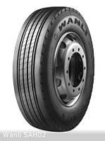 Грузовые шины на рулевую ось 235/75 R17,5 Wanli SAH02