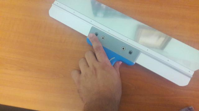 шпатель 400 мм с двухкомпонентной ручкой