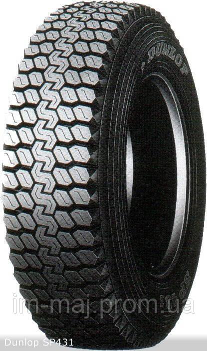 Грузовые шины на ведущую ось 10  -  22,5 Dunlop SP431