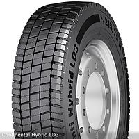 Грузовые шины на ведущую ось 215/75 R17,5 Continental Hybrid LD3