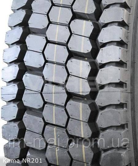 Грузовые шины на ведущую ось 315/80 R22,5 Kama NR 201