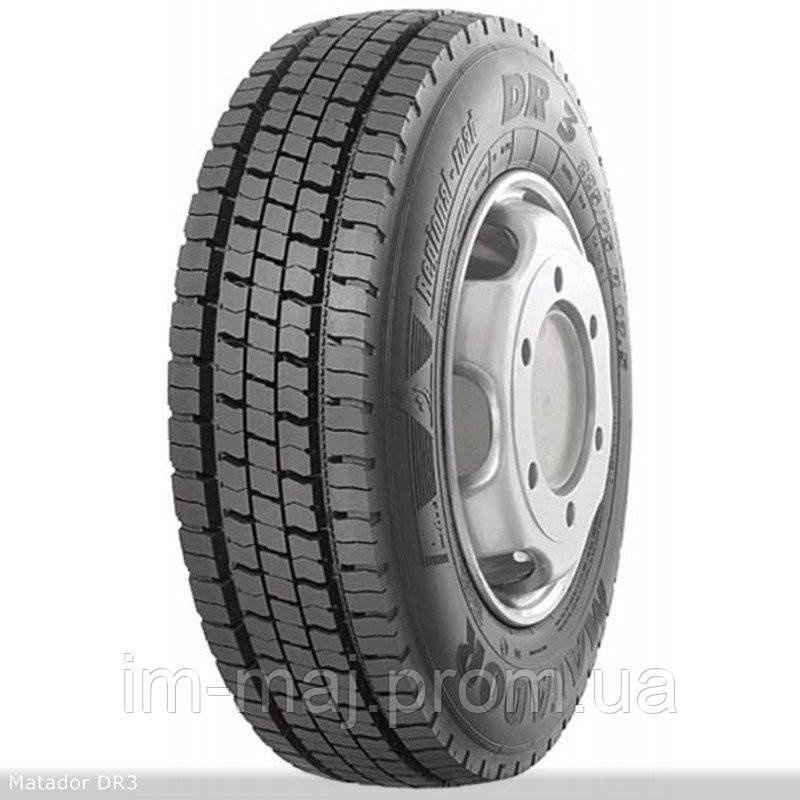 Грузовые шины на ведущую ось 225/75 R17,5 Matador DR 3