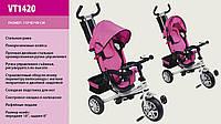 Детский трехколесный велосипед  Super Trike  VT 1420, розовый