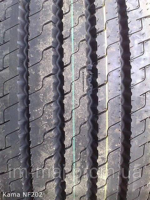 Грузовые шины на рулевую ось 315/70 R22,5 Kama NF202