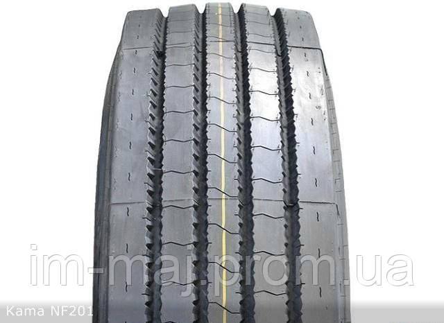 Грузовые шины на рулевую ось 315/80 R22,5 Kama NF201
