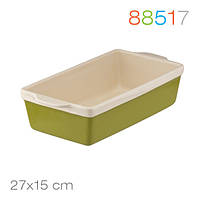 Форма для выпечки хлеба  Natura Oliva Green Ceramica, 27*15*7 Granchio 88517