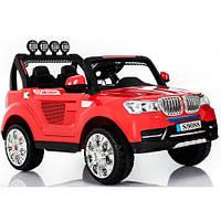 Детский электромобиль BMW M 3118 EBR-3: 2 места, 4x4, EVA, 2.4G, 8 км/ч - КРАСНЫЙ