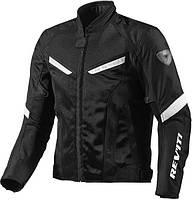 Річна мотокуртка Revit GT-R Air Black White, M