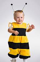 Детский карнавальный костюм «Пчелка мини(флис)» рост 80-86