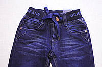 Стильные джинсы на мягкой еврорезинке для мальчиков от 1 до 5 лет, от производителя Taurus (Венгрия)