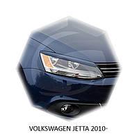 Реснички на фары Volkswagen JETTA 2010+ г.в.