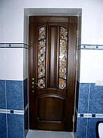 Двері соснові лаковані виготовлення