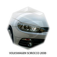 Реснички на фары Volkswagen SCIROCCO 2008+ г.в.