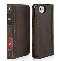 Чехол-книжка BookBook для Iphone 5/5S коричневая