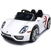 Детский электромобиль  Porsche Style FT 1038: 2.4G, EVA-колеса, 7 км/ч - WHITE - Купить Оптом, фото 1