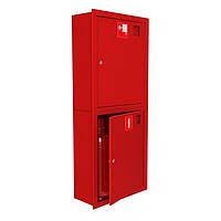 Шкаф пожарный ШПК-320 ВО встроенный с задней стенкой 1300х600х230мм, Евросервис (000013482)