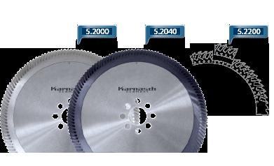Пилы дисковые сегментные (пилы Геллера) для резки стали до 800 N/мм2, (с покрытием BLUE-Line)