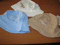 Детская летняя  шапочка- панамка 44-48 см хлопок Турция