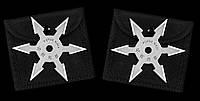 Сюрикен - метательная звезда 6 + чехол на ремень
