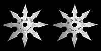 Сюрикен - метательная звезда 8 + чехол на ремень