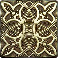 Декоративная вставка из бронзы Zodiac (5x5), фото 1