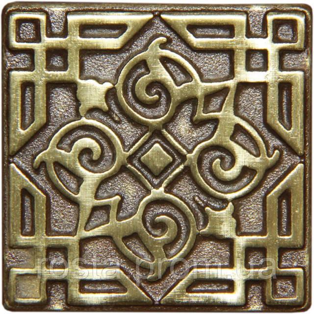 Декоративна вставка з бронзи Orient (7,5x7,5)