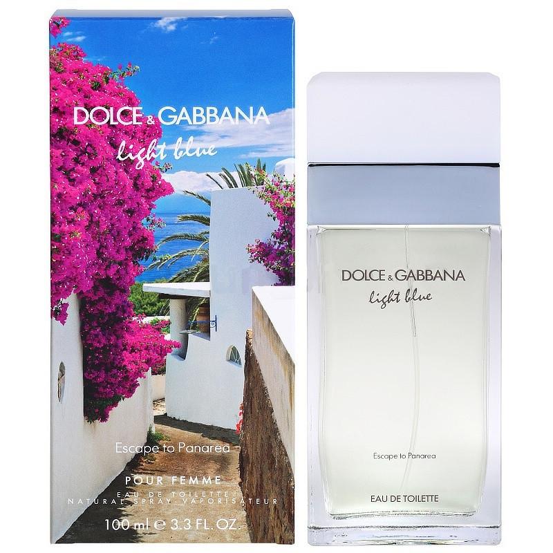 Dolce&Gabanna Light Blue Escape to Panarea туалетная вода 100 ml. (Дольче Габбана Лайт Блю Ескапе ту Панарея) - Интернет-магазин парфюмерии JD-Kristall —  духи, туалетная вода Versace, Givenchy, Dior в Киеве