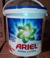 """Стиральный порошок Ariel """"Whites+Colors""""+ Lenor 9 кг 120 стирок"""