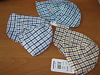 Детские  летние кепочки для мальчика 44 см Турция