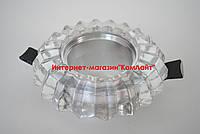 Точечный светильник встраиваемый CTC-F 2437 алюминий и стекло, фото 1