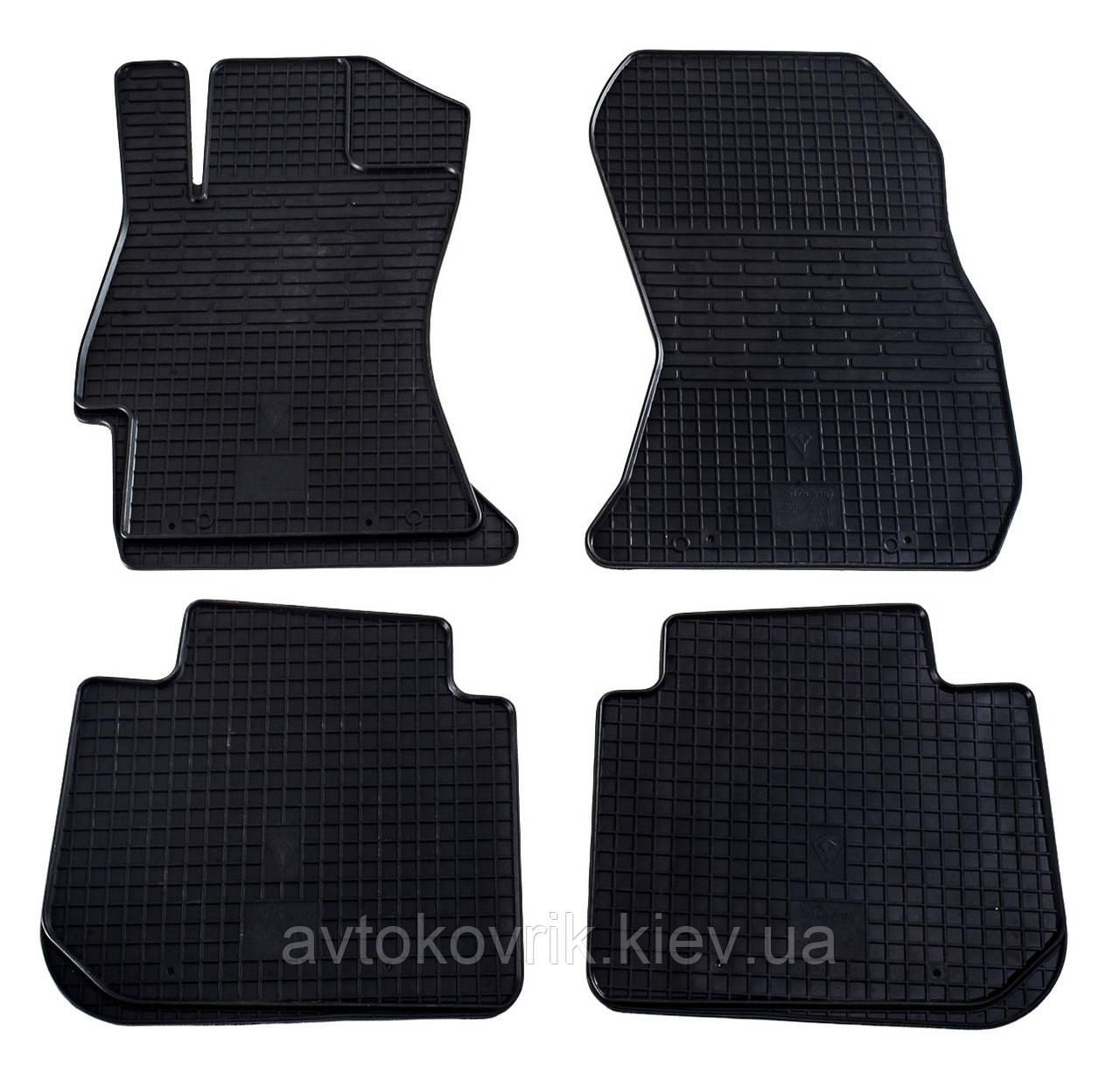 Резиновые коврики в салон Subaru Legacy V (BM, BR) 2009-2014 (STINGRAY)