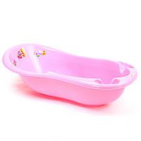Maltex Ванночка Кубусь, 100 см (розовая)
