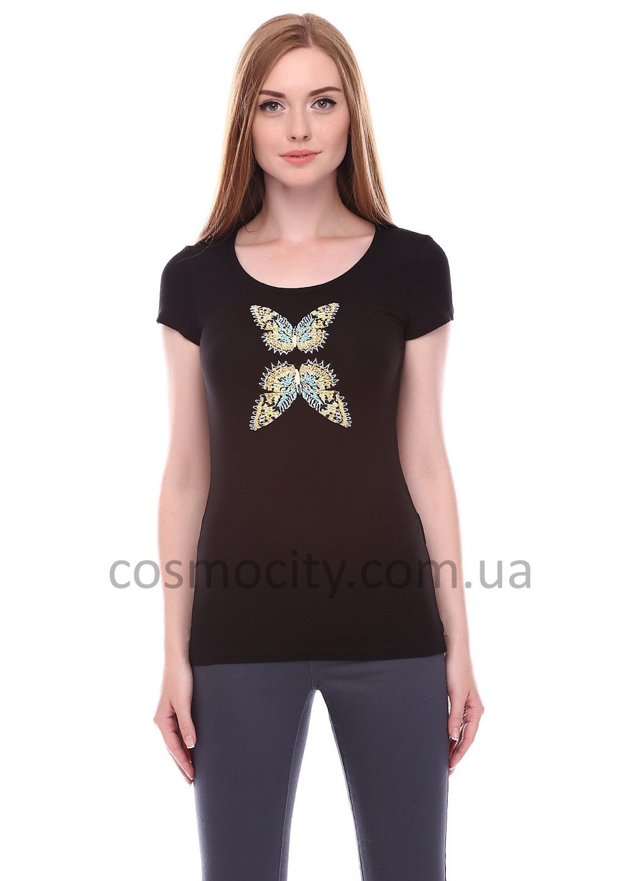 Футболка AMN Butterfly Black CC1089