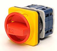 Кулачковый переключатель аварийный 2-полюсный ON-OFF (0-1) 10А