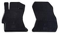 Резиновые передние коврики для Subaru Outback III (BP) 2003-2009 (STINGRAY)