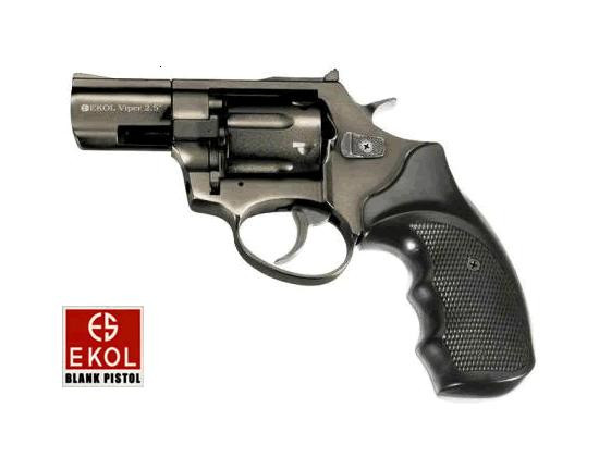 "Револьвер под патрон флобера Ekol 2.5"" black"